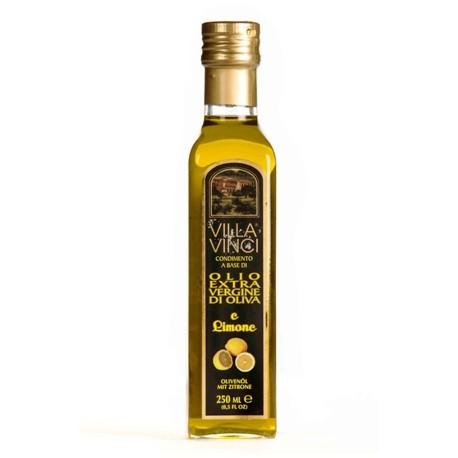 VILLA VINCI Olio Extra Vergine di Oliva Aromatizzati - Limone 250ml.