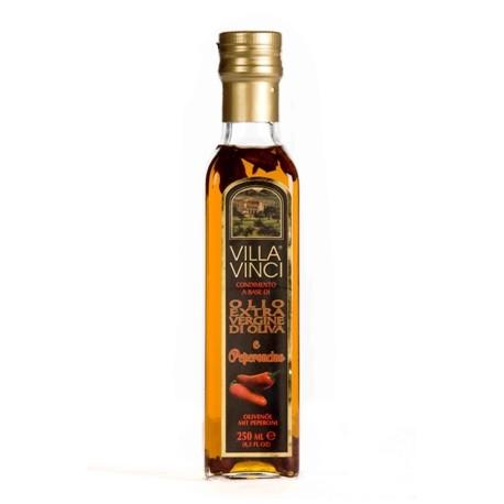 VILLA VINCI Olio Extra Vergine di Oliva Aromatizzati - Peperoncino 250ml.